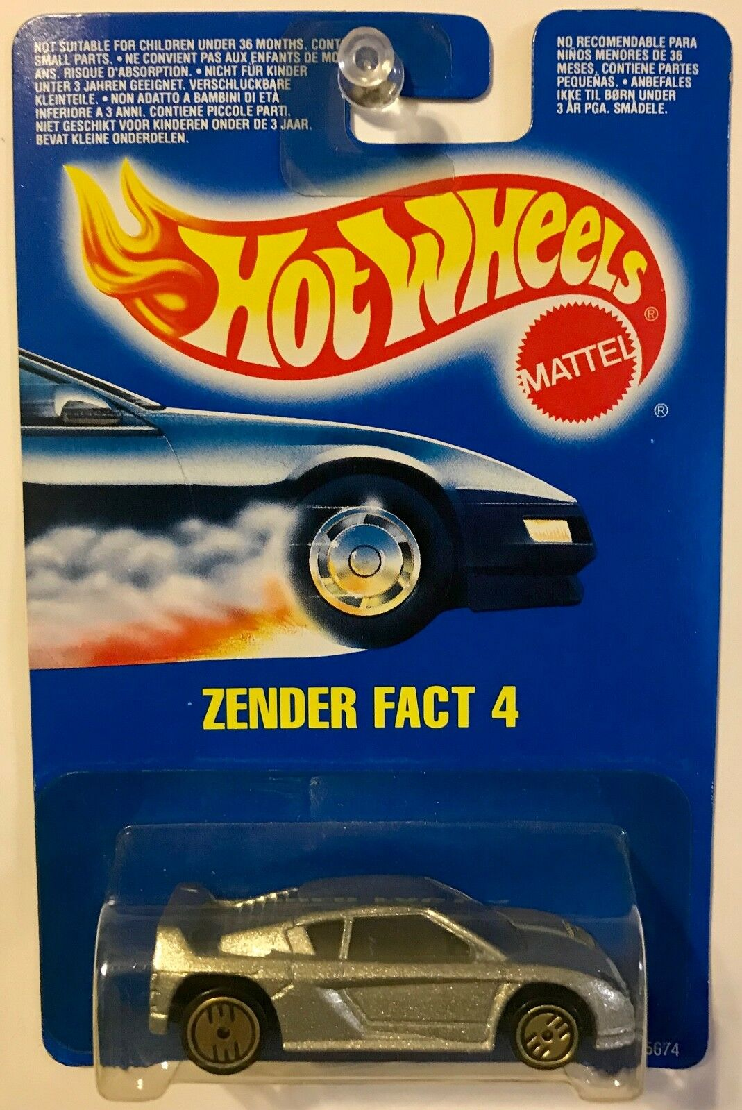 Verwonderlijk 4 Fact Zender Wheels Hot gold International RARE - Card wheels Hot OW-86