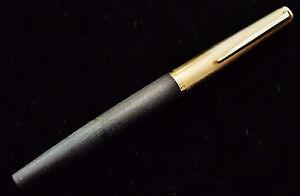 Fuellfederhalter-Montblanc-224-vergoldete-Kappe-Goldfeder-Dr-Oetker