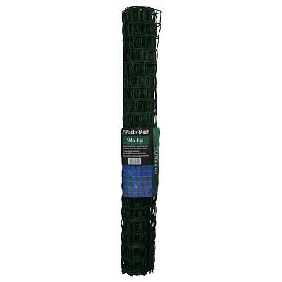 Green Plastic Mesh Garden Barrier Fence Square Planter Climbing Netting Safety