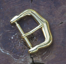 Gold plated watch buckle 16mm 1950/60 as found on vintage Patek Philippe 14 sold