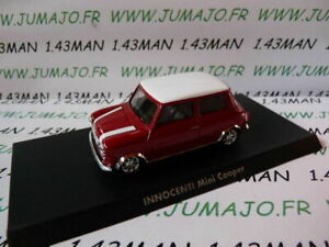 Voiture-1-43-solido-INNOCENTI-Mini-cooper