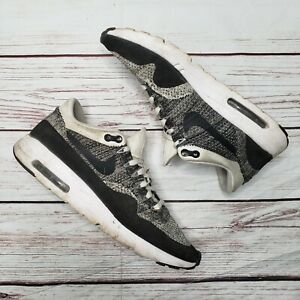 Nike Air Max 1 Ultra Flyknit White Black Black 843384 100