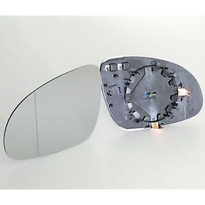 SPIEGELGLAS-GLAS-AUssENSPIEGEL-HEIZBAR-ASPHARISCH-LINKS-PASST-FUR-VW-GOLF-5-1K1
