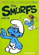 The Smurfs Graphic Novels Boxed Set: Vol. #13-15 by Yvan Delporte, Peyo...