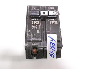 ge 60 amp 2 pole rt-660 circuit breaker hacr e-11592 thqb ... 2003 acura rsx type s stereo wiring diagram