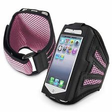 Jogging Running Armband Sports Holder Case Cover For iPod Touch 5 iPhone 5 5S
