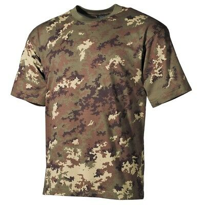 Ultima Raccolta Di T-shirt Militare Americana, Mezzo Braccio, Vegetato, Mf 00103l