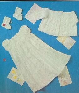 vintage-knitting-pattern-christening-dress-set-18-19-in-chest-4-ply