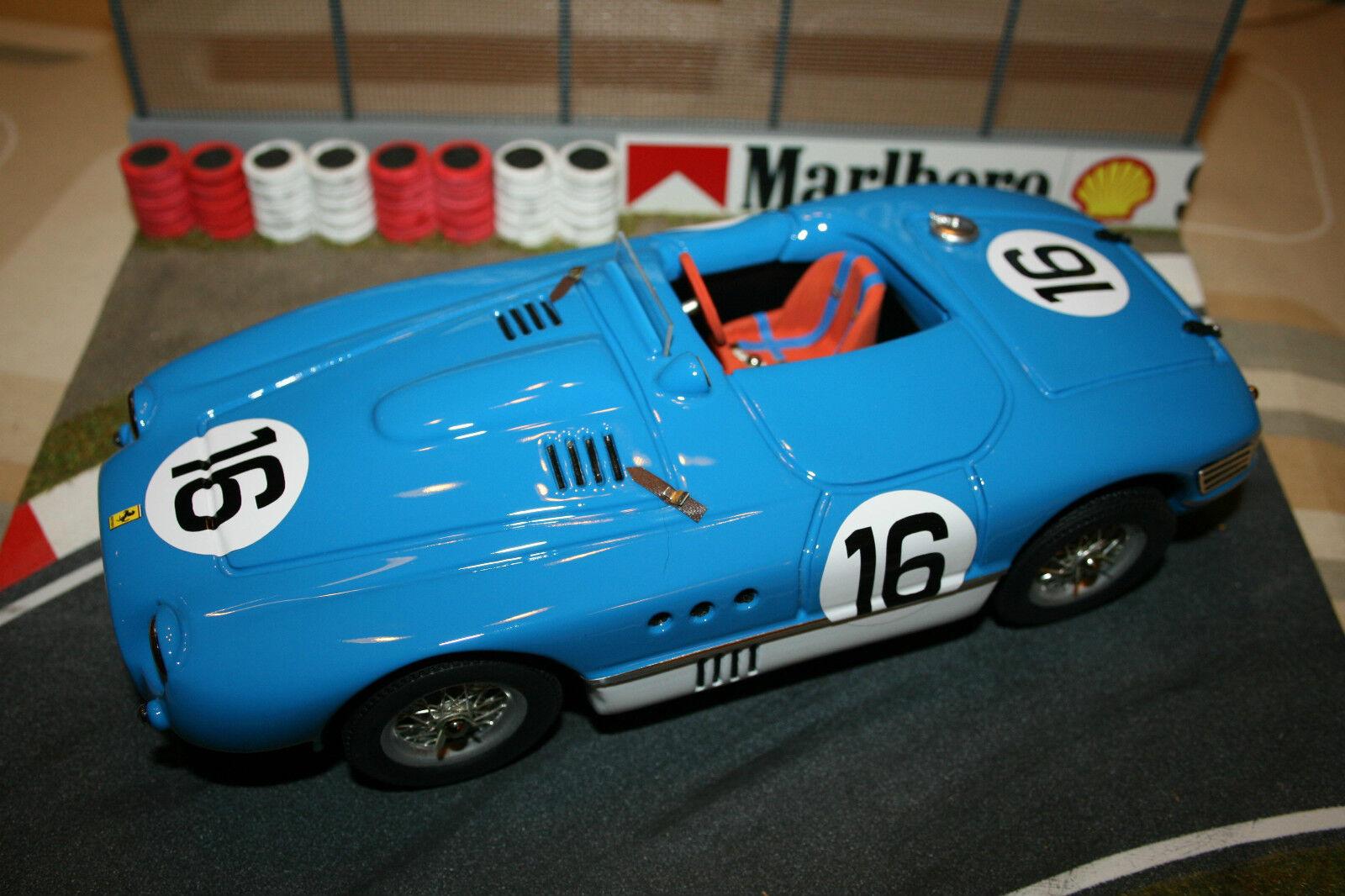 Ferrari Rosso Model 1/18 340MM blu