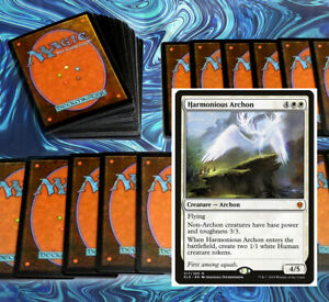 mtg-WHITE-LIFELINK-DECK-Magic-the-Gathering-Standard-2020-pioneer-linden-angels