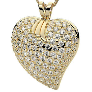 Diamant-Anhaenger-Herz-Collier-14K-585-Gelbgold-1-50-Karat-Brillanten-IF-SI1-D-H