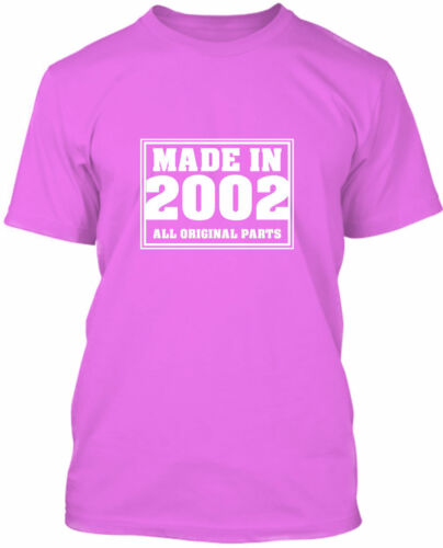 Premium Quality MADE IN 2002-18th Birthday T-Shirt Gift 2020