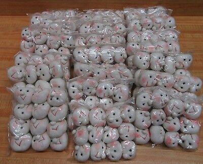 Lot 24 Vtg Happy Hosiery Soft-Sculpture Fibre Craft Mangelsens Doll Heads Faces