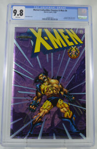 Marvel-Collectible-Classic-X-men-4-CGC-9-8-Rare-Foil-Cover-Wolverine-Cover