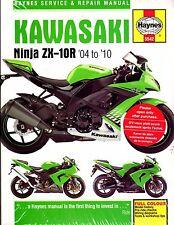 2004-2010 HAYNES KAWASAKI NINJA ZX-10R SERVICE REPAIR MANUAL NEW (5542)