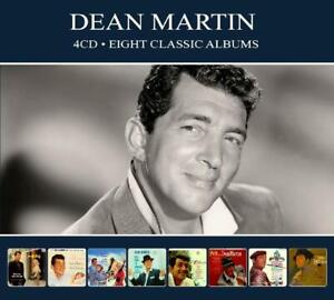 Dean-Martin-EIGHT-8-CLASSIC-ALBUMS-Winter-Romance-ITALIAN-LOVE-SONGS-New-4-CD