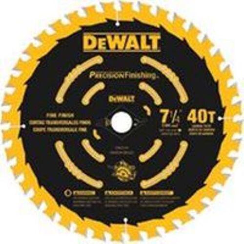 DEWALT 7-1//4 In Thin Kerf Cross Cutting Blade  #DW3194