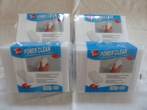 Sito Power Clean Schmutzradierer 4x6er Packung