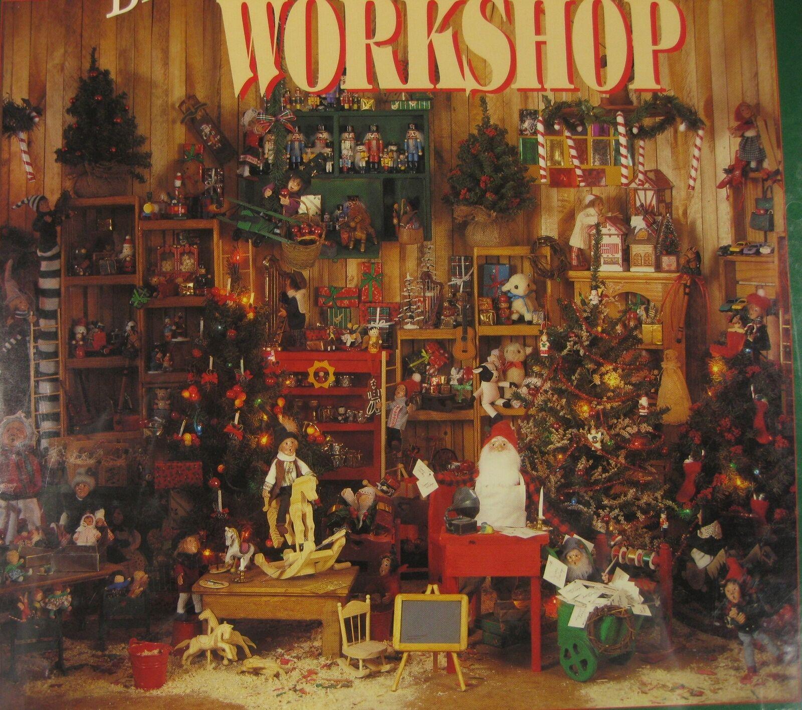 Byers Choice Santa's Workshop 500 Piece Sealed 1994 Jigsaw Puzzle 18x24