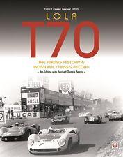 LOLA T70 (Racing History/Chassis Record Mark I II III b Daytona) Buch book T 70