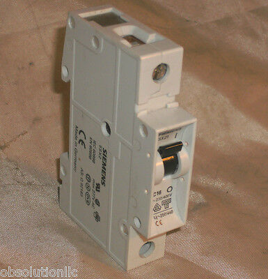 SIEMENS SX521C16 CIRCUIT BREAKER 16A SX521 C16 CONTINUITY TESTED