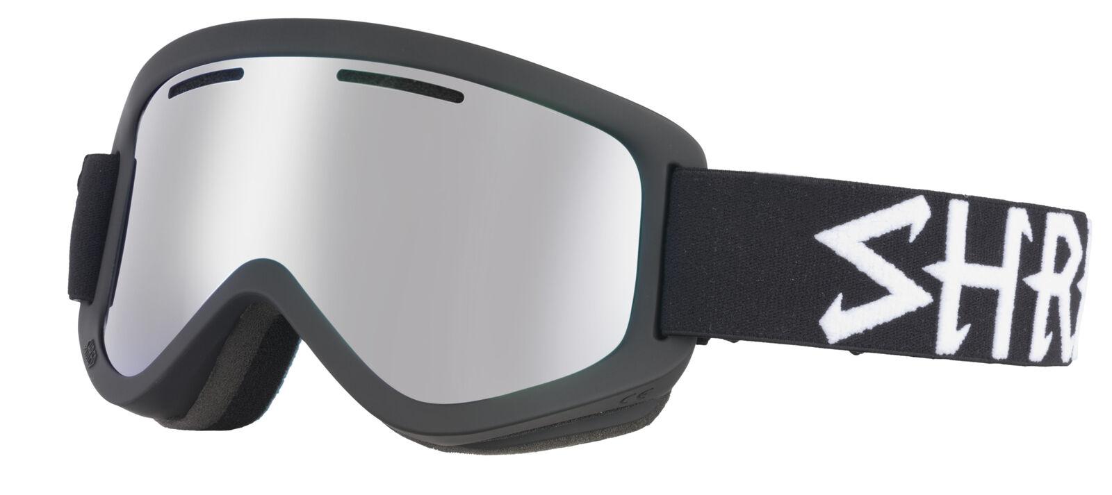 Shred Skibrille Snowboardbrille WONDERFY ECLIPSE PLATINUM black