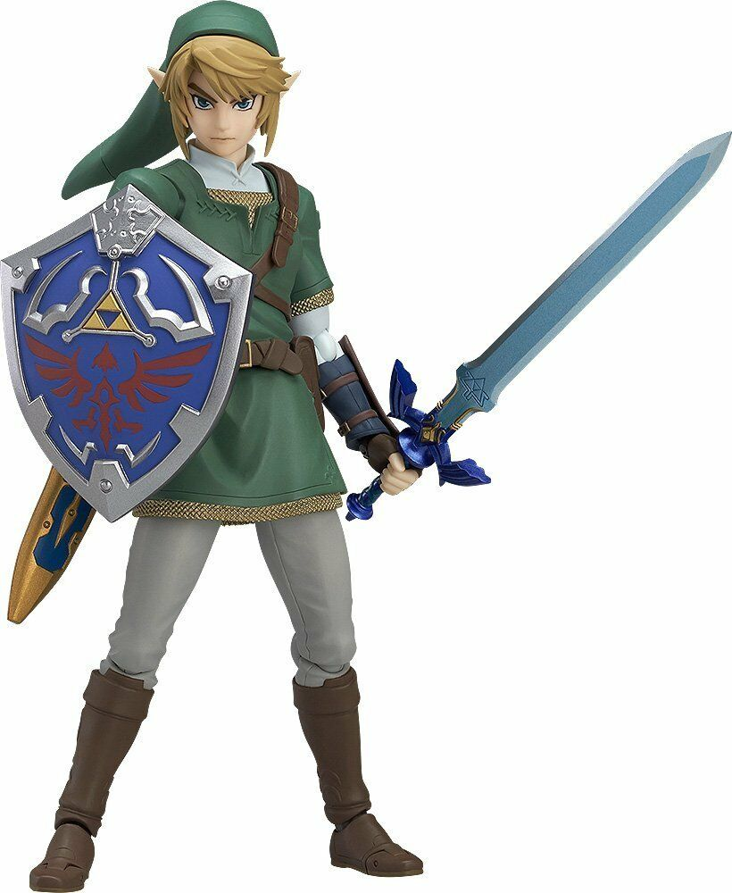 Figma Legend of Zelda Link Twilight Princess ver. ABS & PVC Movable Figure