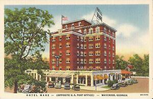 Waycross-GEORGIA-1940-Hotel-Ware-ARCHITECTURE