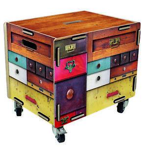 Werkhaus Rollbox Schubladen Rollcontainer Tisch Box RB6005