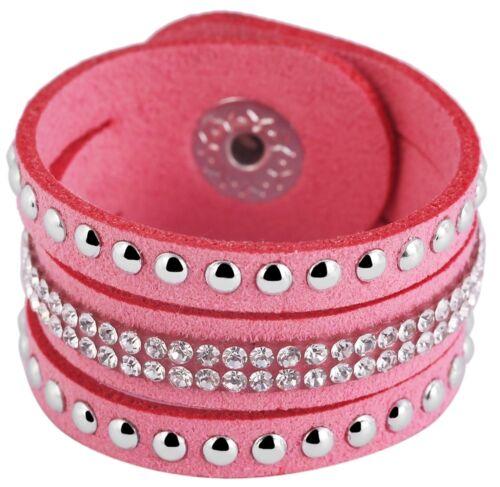 Schalschmuckband Schal Schmuck Armband Textil Kunststoff Hellblau Stein Besat 35