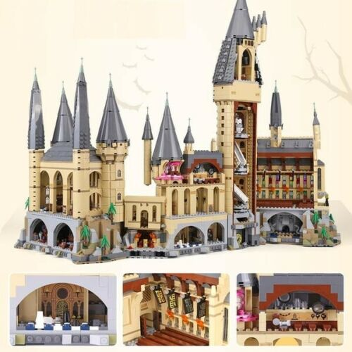 New Custom Harry Potter Hogwarts Castle 71043 UA Edu Toy Set Free Fast Shipping