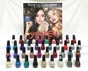 Lot-of-2-Sinful-Colors-Decked-Out-Nail-Polish-Various-Shades-Available-Choose