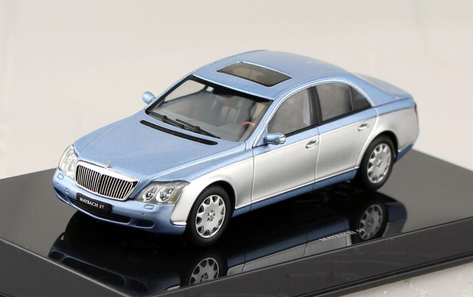 Maybach 57 plataO-azul 1 43 AUTO ART MODELLO DI AUTO