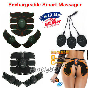 Rechargeable-Smart-Abs-Stimulator-Fitness-Gear-Muscle-Abdominal-toning-Trainer