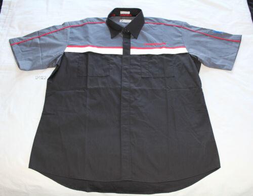 Hummer GM Mens Dealer Mechanic Embroidered Short Sleeve Shirt Size XXL New