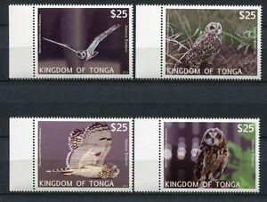 Tonga-2012-Eulen-Owls-Voegel-Birds-1793-1796-Postfrisch-MNH