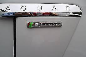 Genuine JAGUAR R SPORT Badge droit ou gauche C2Z30571
