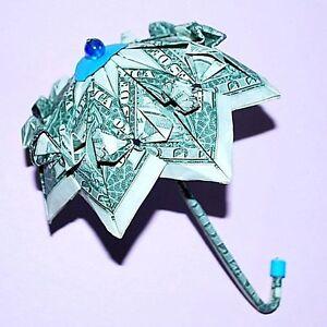 money origami umbrella unique gift