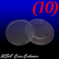 (10) 1/10 Oz Gold Eagle Size Direct Fit Air-tite Coin Capsule [a16] Genuine 16.5