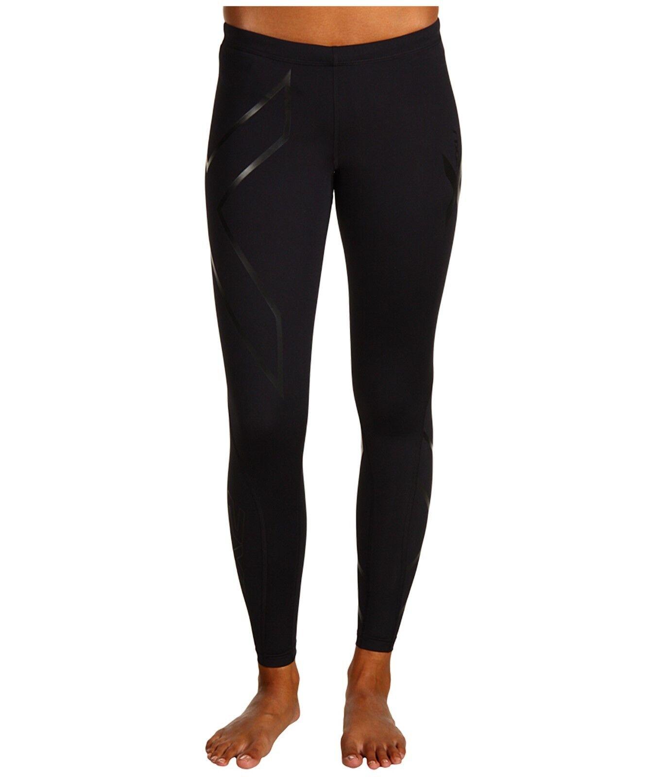 2XU Ripresa Compressione Pantaloni da Corsa, MISURE XS 150cm175cm;4050kg Nib