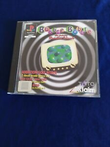 Jeu BUBBLE BOBBLE complet PLAYSTATION PS1 PAL.