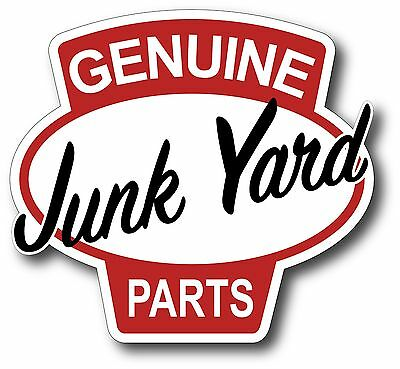 "5/"" Route 66 Junk Yard Survivor Decal Sticker Rat Hot Rod One ProSticker 827"