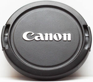 Details about Canon 58mm Front Camera Lens Cap E-58mm Snap-on Cover for EF  EF-S Lenses