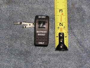 RV-Motor-Home-Coach-Carling-Rocker-Switch-Dual-Battery-Boost-20a-12v-LED-light