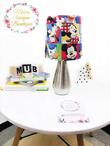 Details About Mickey Minnie Mouse Baby Children Nursery Table Lamp Night Light Touch