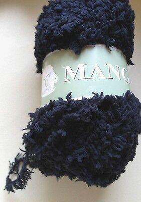 couleur noire// fabriqué en FRANCE 10 pelotes laine nounours   Mango