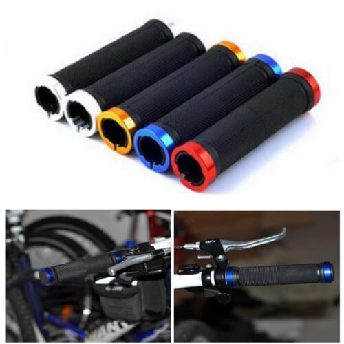 1 Pair Lock On Locking Mountain BMX Bike Cycling Handle Bar Grips US