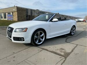 2011 Audi A5 2.0L  S-Line  Convertible Quatro Leather/Camera