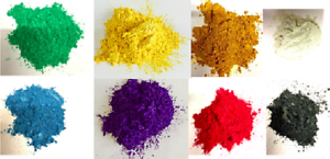 Metallic Colour Pigments for Epoxy Resin: 8 beautiful colours [100g each]