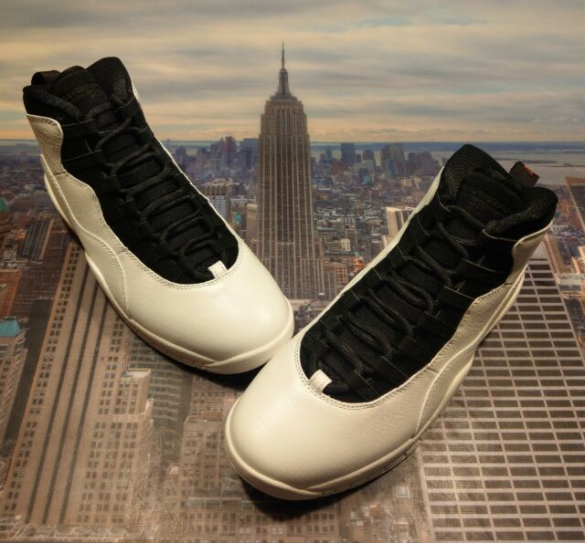 watch b64de ce2cf Nike Air Jordan X 10 Retro I m Back Summit White Black Size 10.5